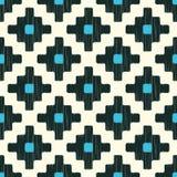 Seamless scribble ethnic pattern. Seamless scribble ethnic geometric pattern Stock Illustration