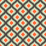Seamless scribble geometric ornament pattern Royalty Free Stock Photography