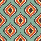 Seamless scribble geometric pattern Stock Image