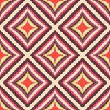 Seamless scribble geometric rhombus pattern vector illustration