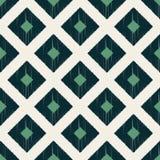 Seamless scribble geometric rhombus pattern Stock Photos