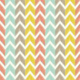 Seamless scribble herringbone geometric pattern Stock Images