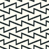 Seamless scribble mesh geometric pattern Stock Photos
