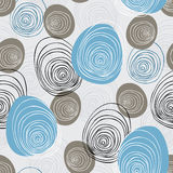 Seamless scribble  pattern Royalty Free Stock Images