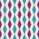 Seamless scribble rhombus pattern. Seamless scribble rhombus geometric abstract pattern Royalty Free Stock Photo