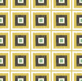 Seamless scribble square tiles pattern Stock Photography