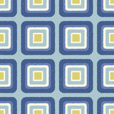 Seamless scribble square tiles pattern Royalty Free Stock Photo