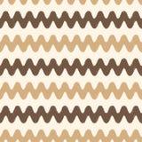 Seamless Scribble Zigzag Pattern Stock Image