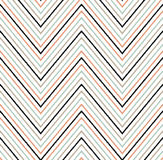 Seamless scribble zigzag pattern Royalty Free Stock Photos
