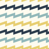 Seamless scribble zigzag  pattern Stock Photos