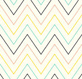 Seamless scribble zigzag  pattern Stock Photo