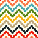 Seamless scribble zigzag pattern Royalty Free Stock Images