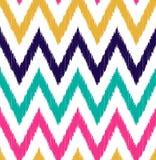 Seamless scribble zigzag pattern Royalty Free Stock Photo