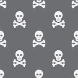 Seamless Scull Pattern Background Royalty Free Stock Photography