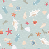 Seamless sea pattern Royalty Free Stock Photography