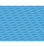 Seamless sea pattern. Cyan waves on blue Royalty Free Stock Image