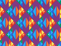 Seamless sea pattern with fish Royalty Free Stock Image