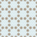 Seamless sea pattern with hand wheels Royalty Free Stock Photography