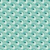 Seamless sea pattern Royalty Free Stock Photos