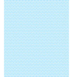 Seamless sea pattern. Light blue waves on white Royalty Free Stock Images