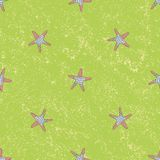 Seamless sea stars vector pattern. Background illustration. You can use web app and other Stock Image