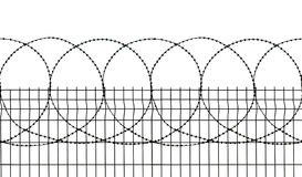 Seamless security fence Royalty Free Stock Photo