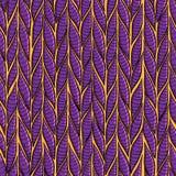 Seamless sennit pattern. Vector multicolored texture Stock Photos