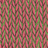 Seamless sennit pattern. Vector multicolored texture Stock Images