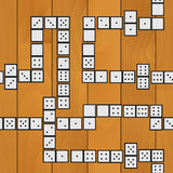 Seamless sequence of dominoes 01 Stock Photography