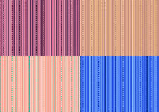 Seamless set of color backgrounds Stock Photography
