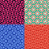Seamless set of color backgrounds Royalty Free Stock Photography