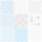 seamless setvektor för modell Vektorpastellbakgrund royaltyfri illustrationer