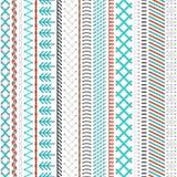 Seamless sewing pattern. Royalty Free Stock Photos