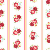 Seamless Shabby Chic Rose Pattern. Seamless Shabby Chic inspired Rose Pattern, vector background Royalty Free Stock Images