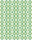 Seamless Shamrock Tile Stock Photography