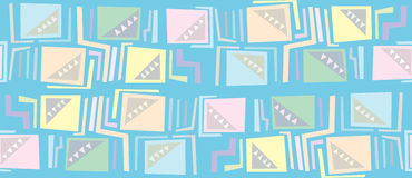 Seamless Shape Pattern Royalty Free Stock Photo