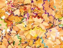 seamless shavingstextur för färgrik blyertspenna Royaltyfri Bild