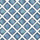 Seamless Shining Holographic Stickers Pattern. Seamless Holographic Shining Stickers Pattern. Geometric Rhombus Royalty Free Stock Photos