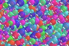 Seamless shining indian blue spheres celebratory background Stock Photography