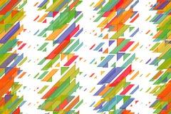 Seamless shiny green triangles, diagonal lines and diagonal blocks celebratory pattern. Seamless shining green triangles, diagonal lines and diagonal blocks Stock Image
