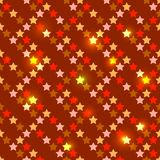 Seamless with shiny stars Royalty Free Stock Photo