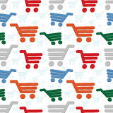 Seamless shop background Stock Image