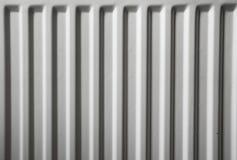 Seamless shot of a white radiator Royalty Free Stock Photos