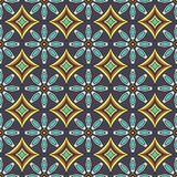 Shweshwe african pattern. Seamless shweshwe african design pattern for fabric and textile layout in color Vector Illustration