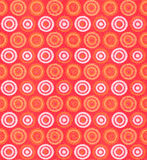 Seamless silk tie pattern. Red, orange and white seamless silk tie pattern Royalty Free Stock Image