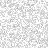 Seamless silver background Stock Photography