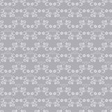 Seamless silver pattern Royalty Free Stock Image