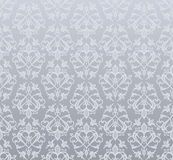 Seamless silver wallpaper Stock Image