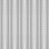 Seamless silvery striped texture.  No gradient. Royalty Free Stock Photo