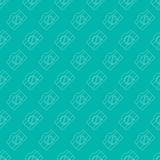Seamless Simple And Clean Camera Pattern. Royalty Free Stock Photography